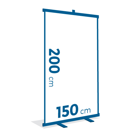 Espositore ROLL UP 150x200 cm